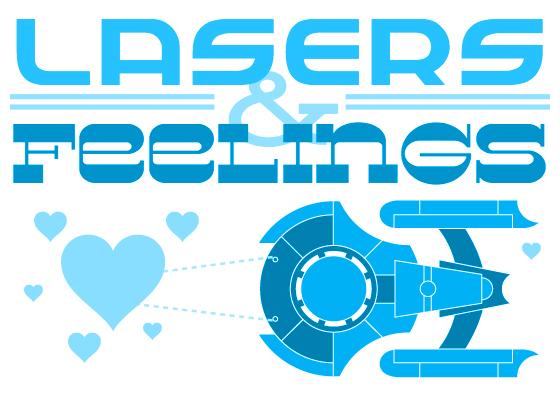 Lasers & Feelings Logo
