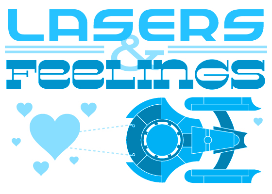 Lasers & Feelings Logo